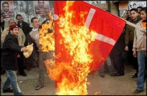 muslims-burn-denmark-flag1