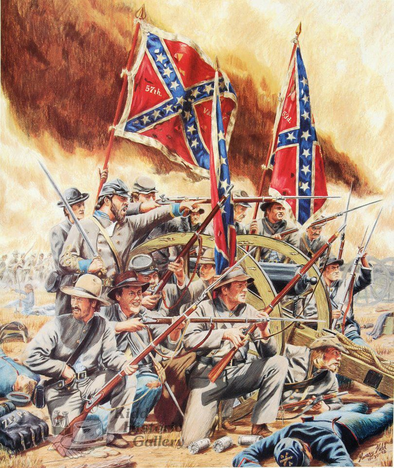 account of the american civil war Fort sumter, in the harbor of charleston, south carolina, continued to fly the united states flag, even as confederate forces surrounded it unwilling to tolerate a us garrison in southern territory, confederates began shelling the fort on april 12, 1861, and union guns responded the civil war had begun.