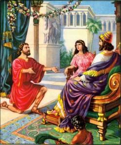 Nehemiah pleads for Jerusalem Nehemiah 2:5-6